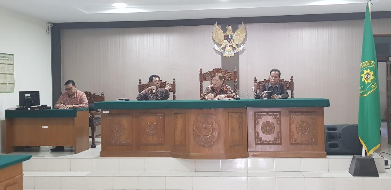 Pembinaan Hakim Tinggi Pengawas Pengadilan Tinggi Medan ke Pengadilan Negeri Balige